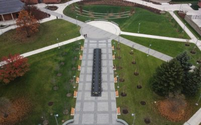 Binghamton University Central Campus Quad